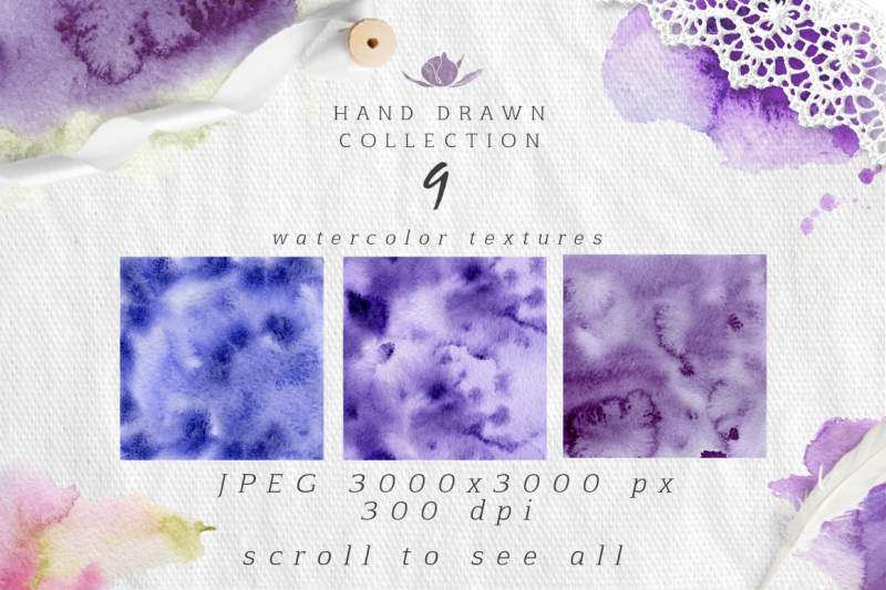 ultra-violet-watercolor-collection
