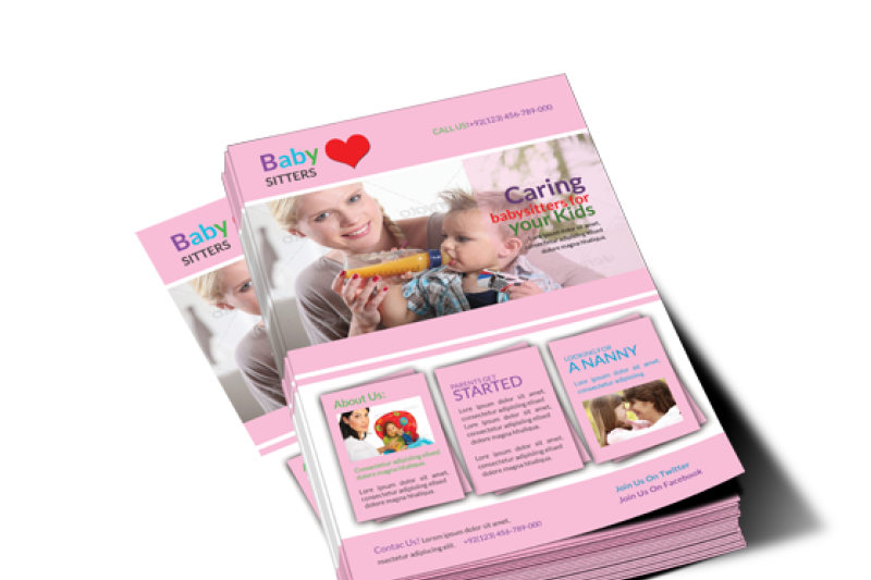 baby-care-flyer-template