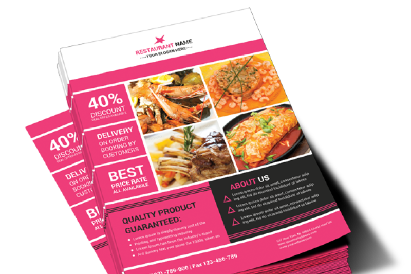 restaurant-services-flyer-template