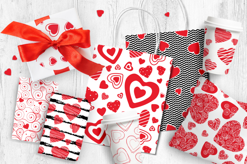love-seamless-patterns