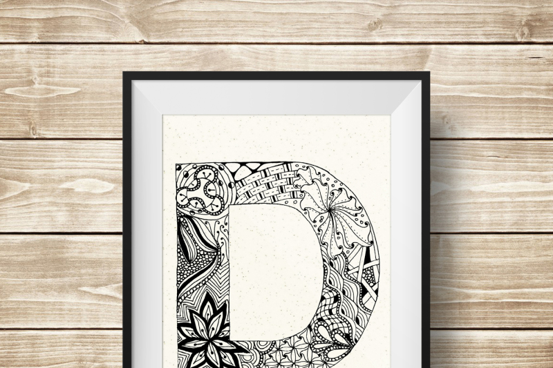 zentangle-stylized-alphabet