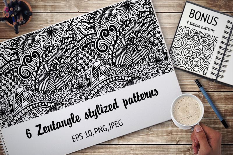 zentangle-stylized-patterns