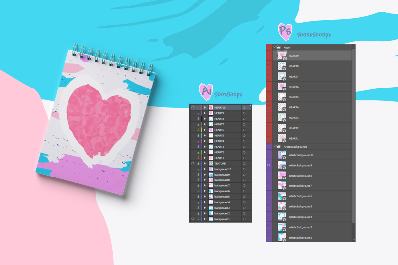 artistic-love-backgrounds