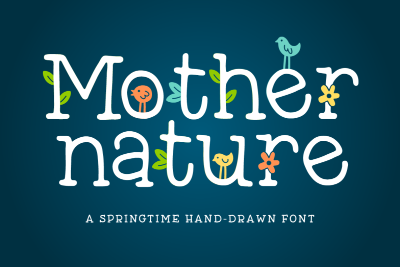 mother-nature-font