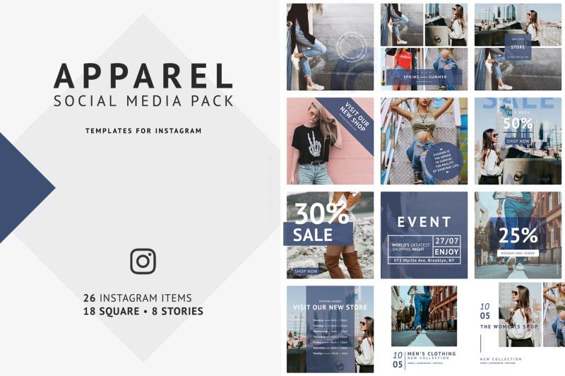 apparel-social-media-pack