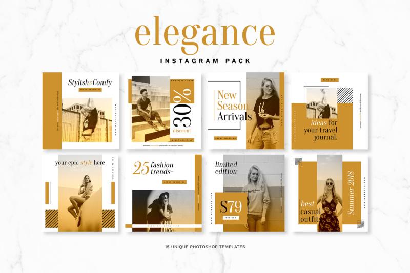 elegance-instagram-pack