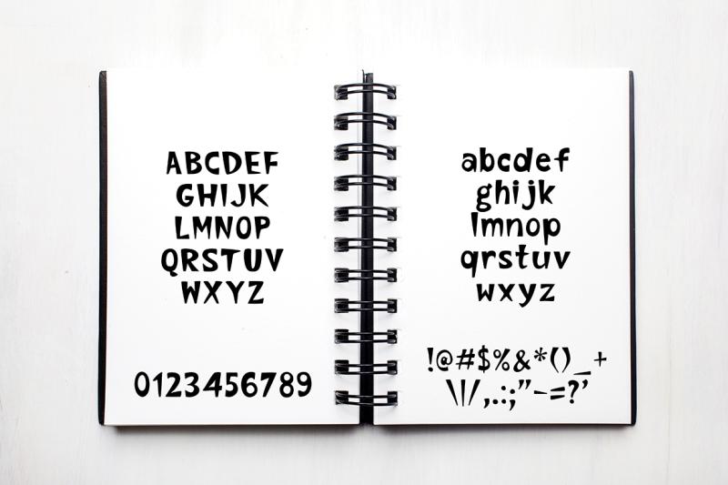 backrock-hand-written-font