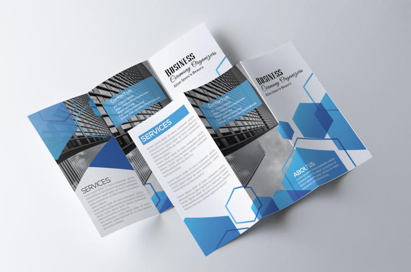 business-industry-tri-fold-brochure
