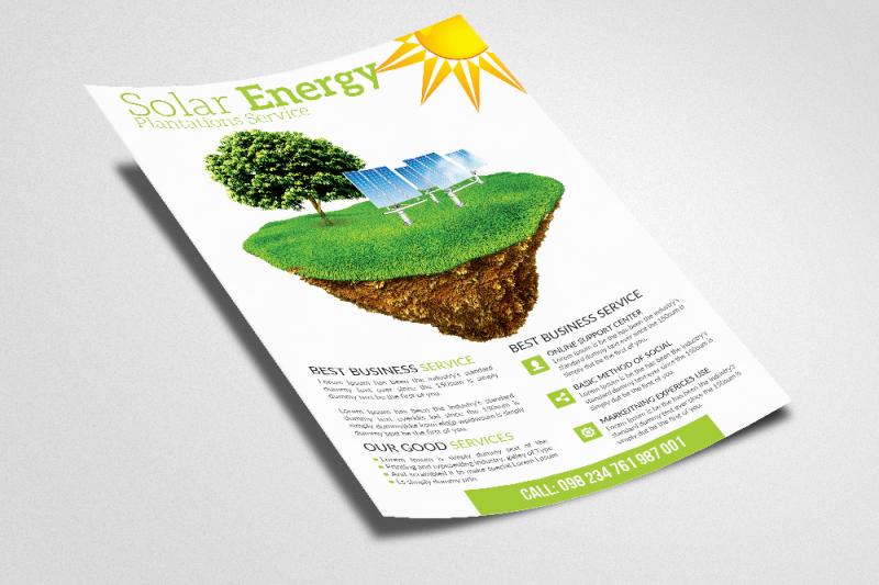 green-energy-flyer-templates