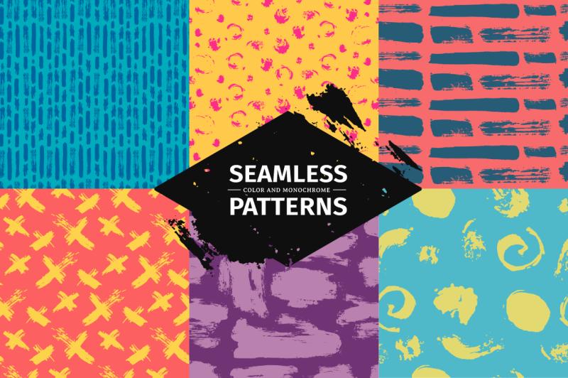 set-funny-seamlees-patterns