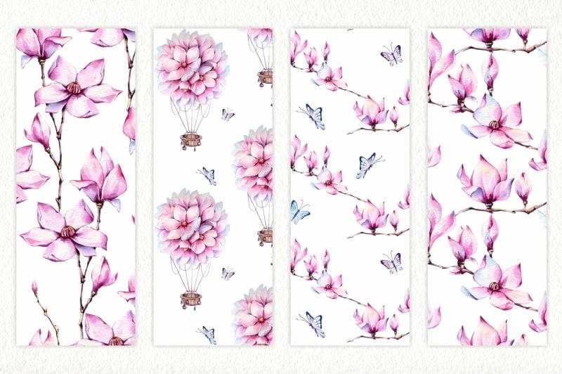magnolia-watercolor-set