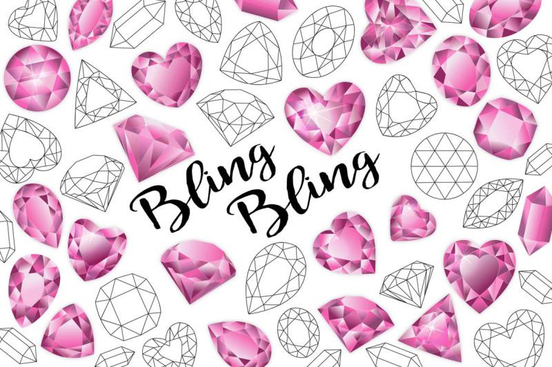 gemstone-clipart-hearts-clipart
