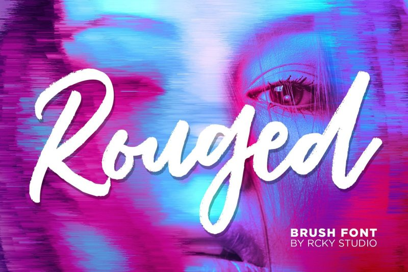 rouged-font