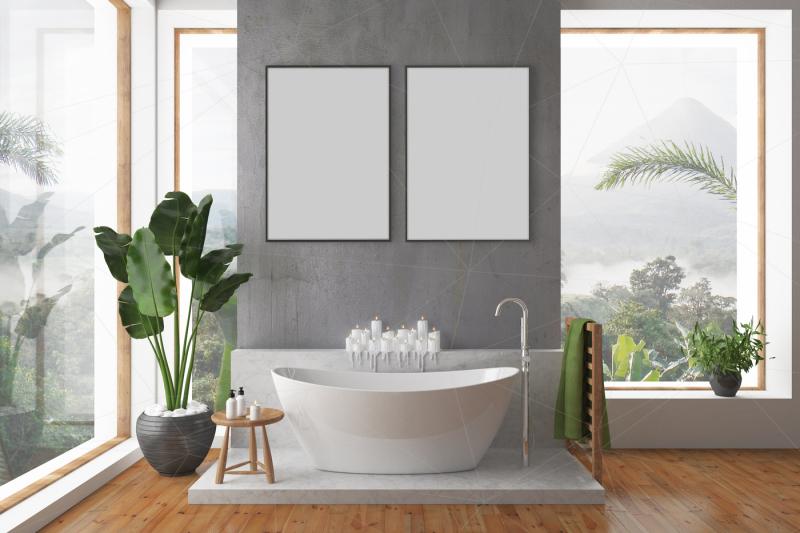 bathroom-interior-blank-wall-mockup