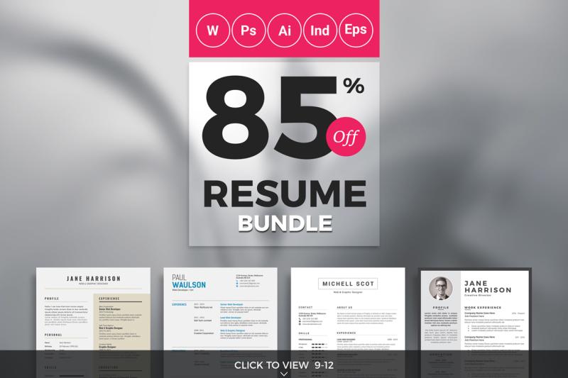 top-selling-resume-cv-big-bundle