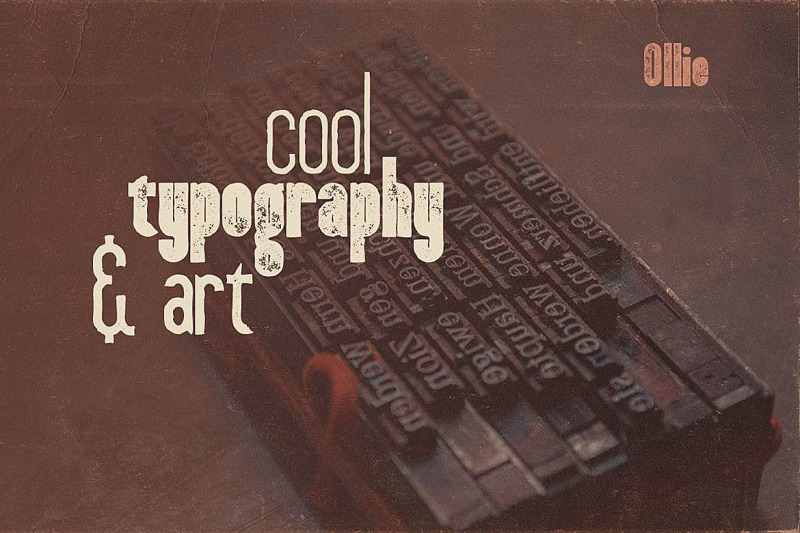 ollie-typeface