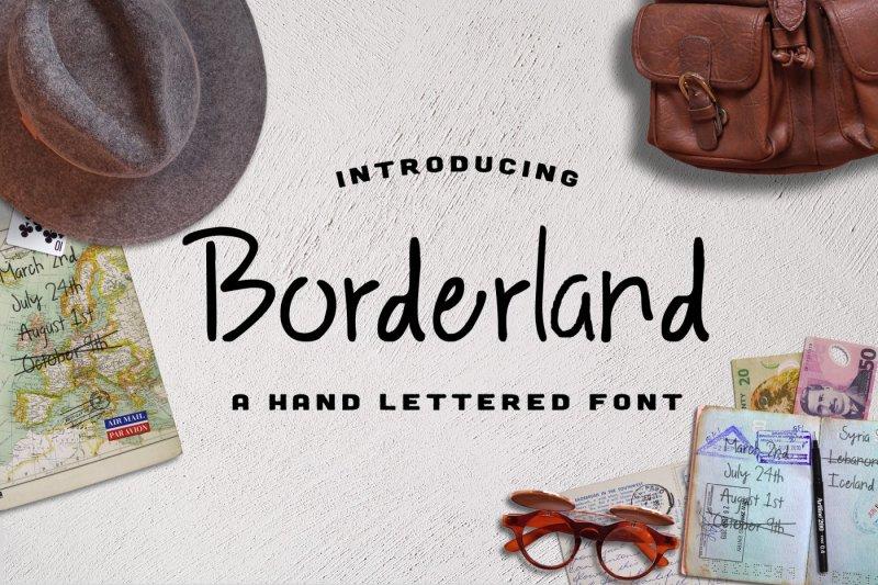 borderland-font
