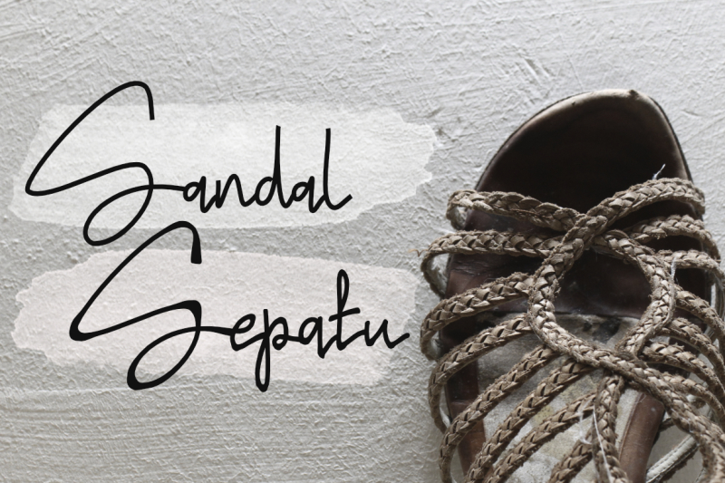 sandal-sepatu