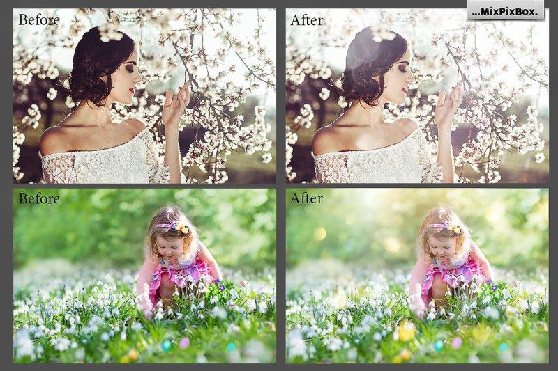 spring-sunbeams-photo-overlays