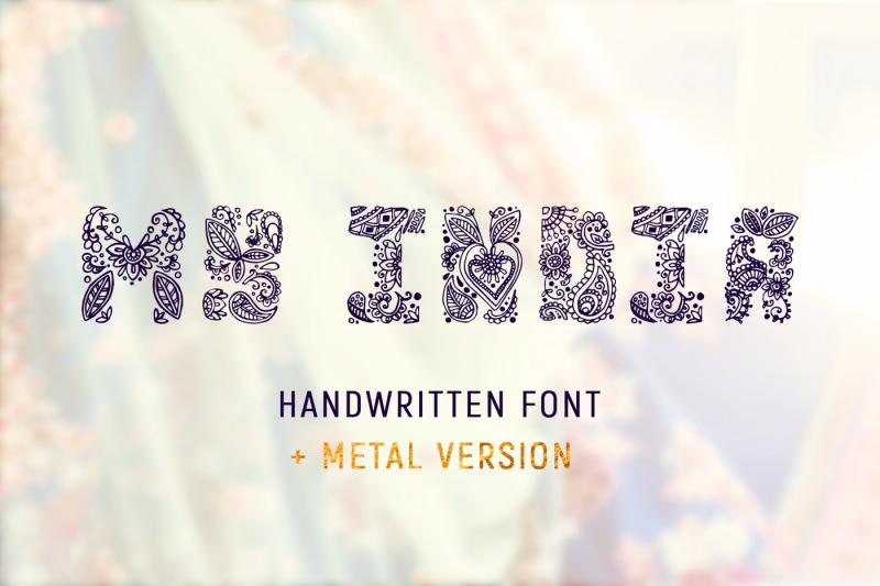 my-india-handwritten-font