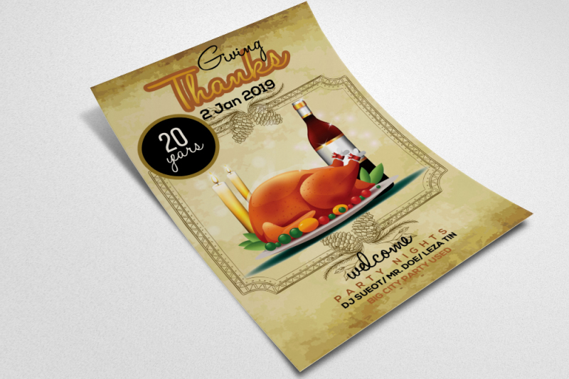 thanksgiving-flyer-templates