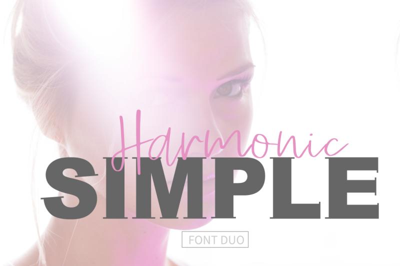 simple-harmonic-font-duo