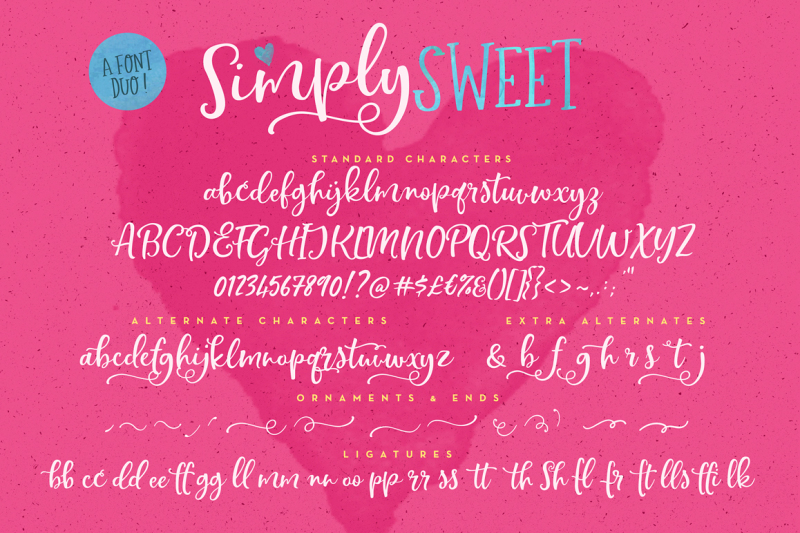 simply-sweet-font-duo