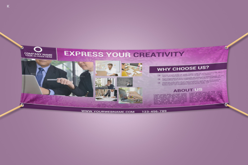 website-banner-template
