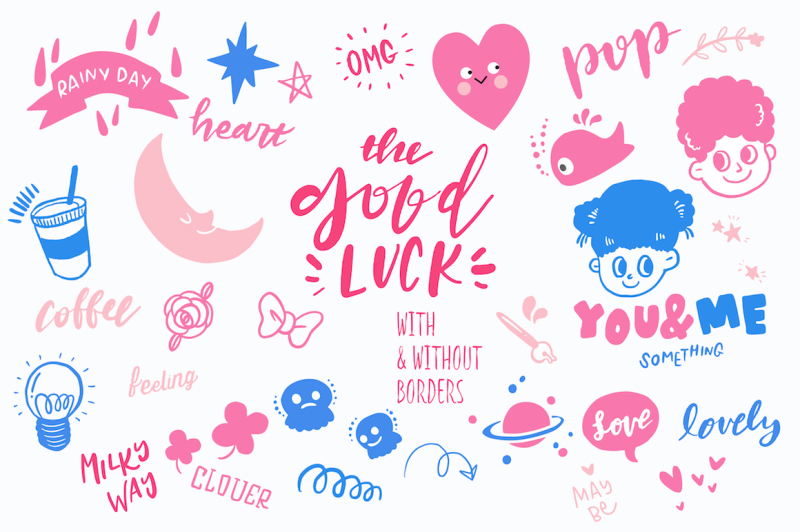 good-luck-retro-pop-stickers