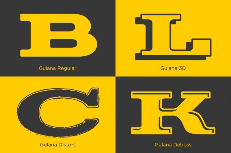 gulana-slab-serif