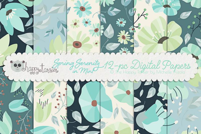 spring-serenity-in-mint-seamless-pattern-designs-and-digital-papers