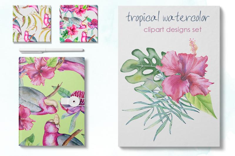 tropical-watercolor