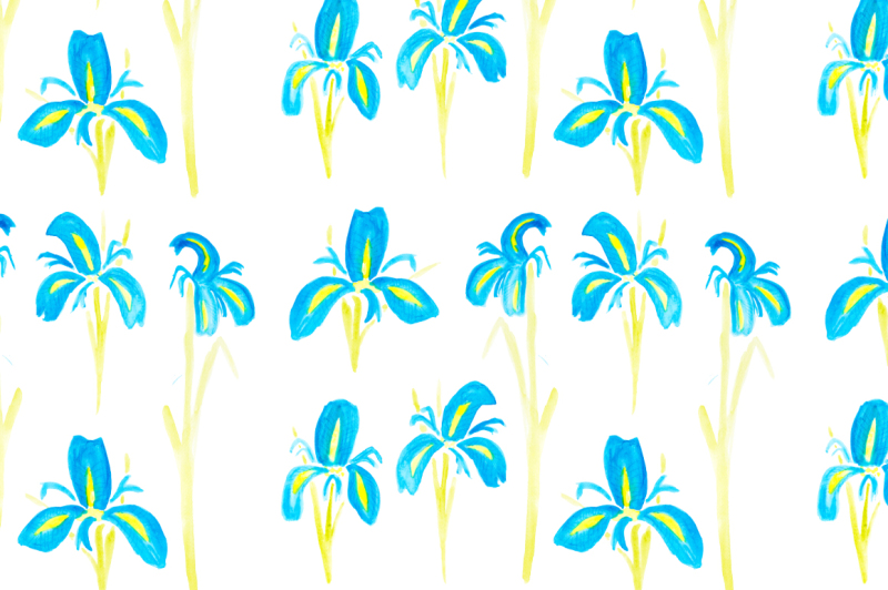 floral-watercolor-seamless-patterns-flower