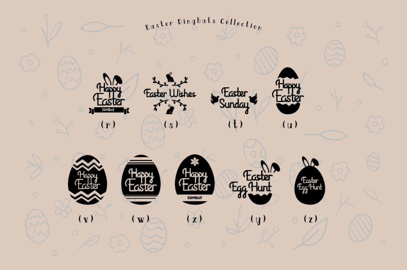 easter-egg-dingbats