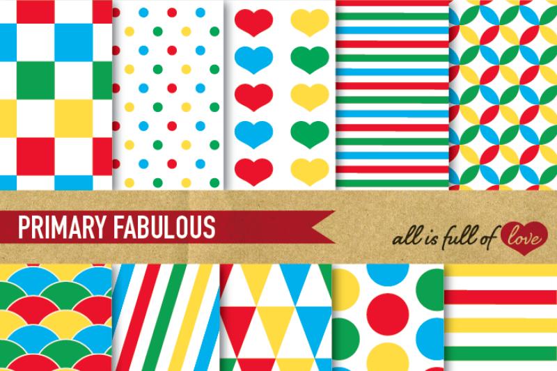 primary-colors-digital-paper-pack-scrapbooking-digital