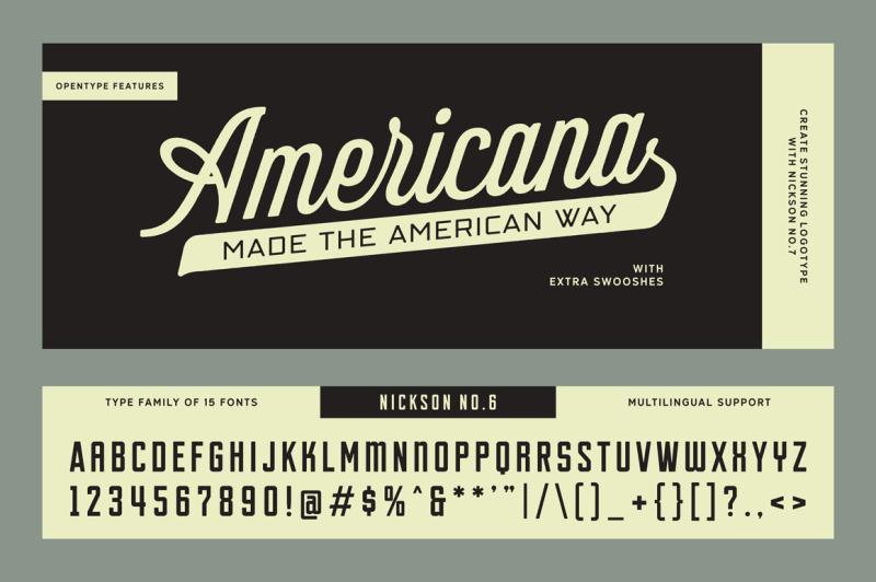 s-and-s-nickson-font-bundles