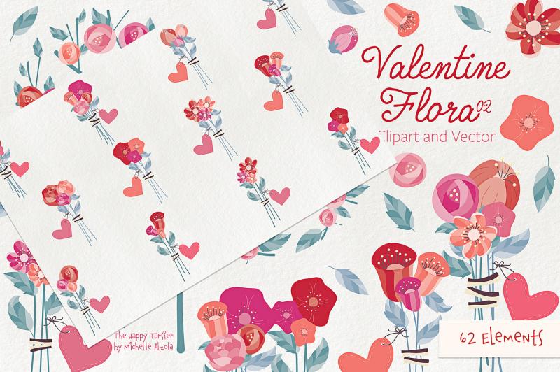 valentine-flora-02-flower-heart-clipart-vector-graphics