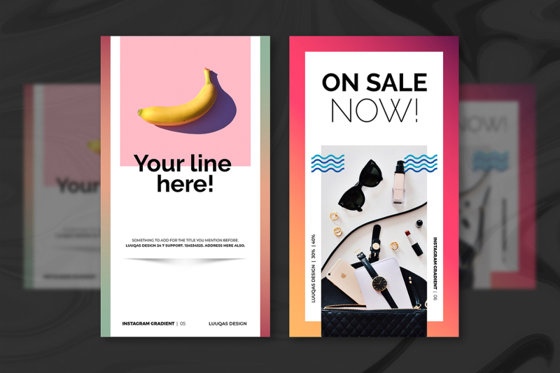 gradient-social-media-pack