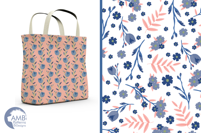 blue-dream-floral-patterns-papers-amb-1288