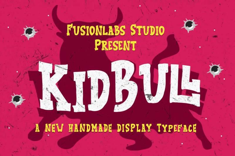 kidbull-typeface