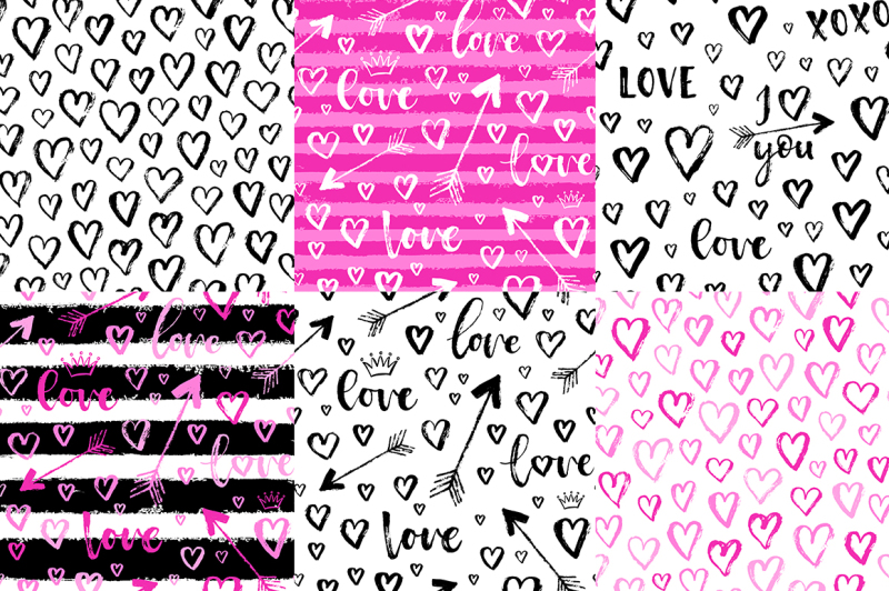 love-patterns-set