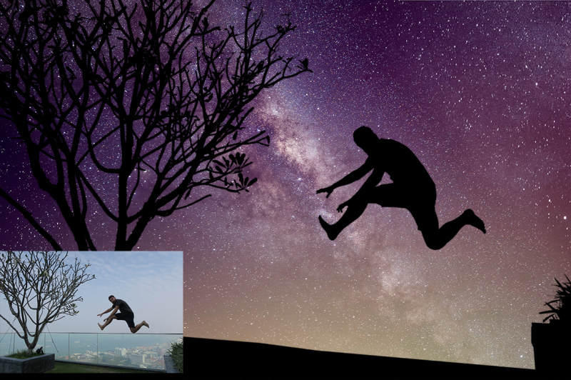 night-sky-silhouette-actions