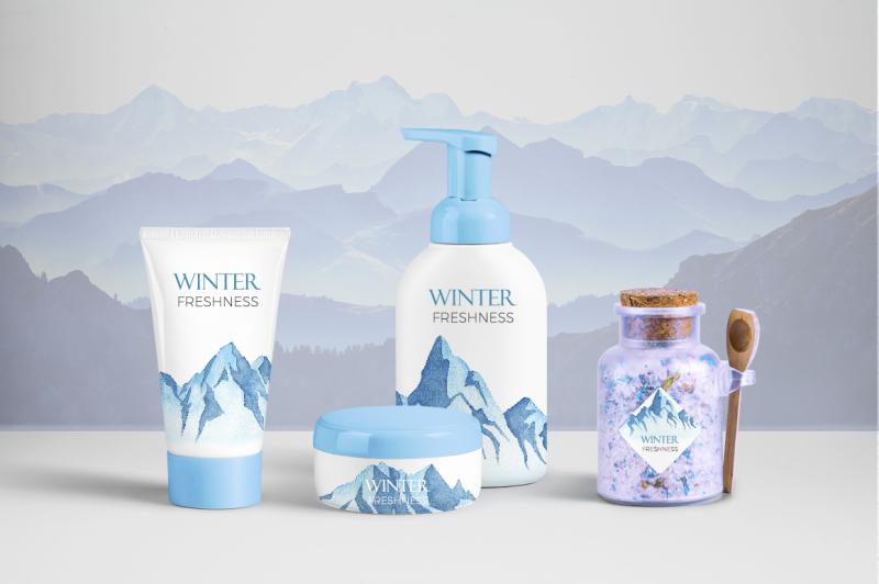 winter-mountains-watercolor-set