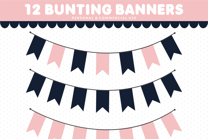 bunting-clipart-banner-clipart-pennant-clipart-cl-1534