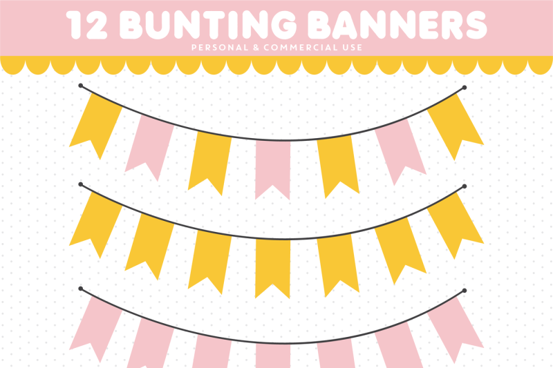 bunting-clipart-banner-clipart-pennant-clipart-cl-1538