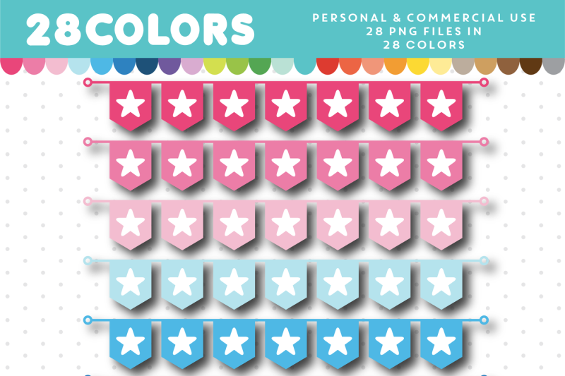 bunting-banner-clipart-flag-clipart-pennant-clipart-cl-1429