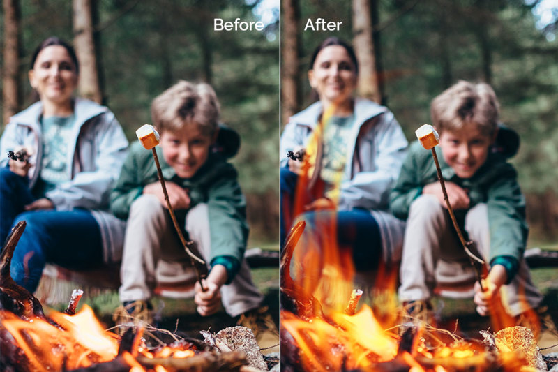15-bonfire-photo-overlays