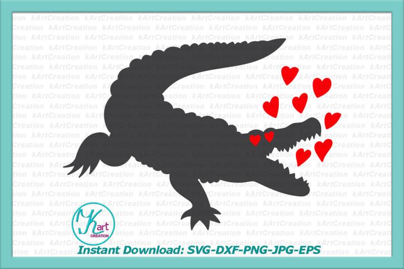 valentine-s-day-svg-spread-love-svg-crocodile-svg-alligator-svg