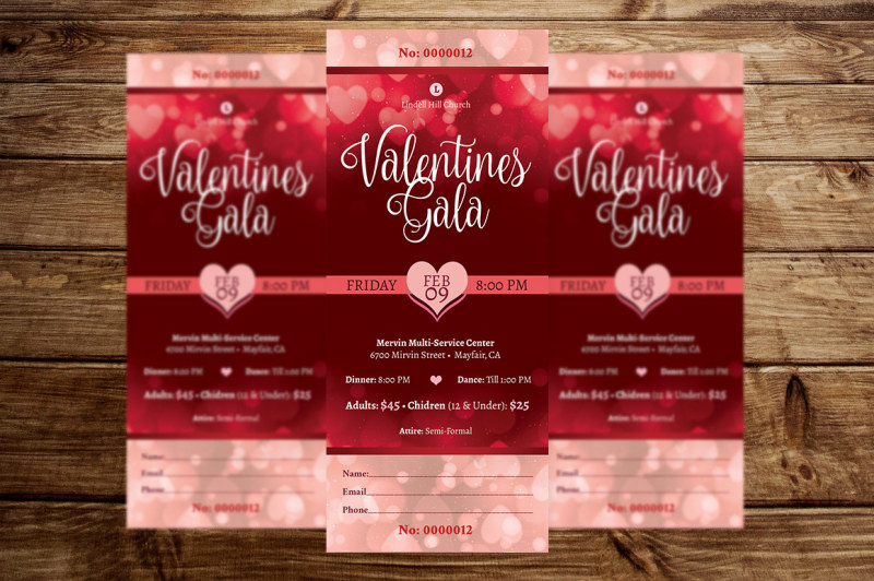 red-hearts-valentines-gala-ticket-template