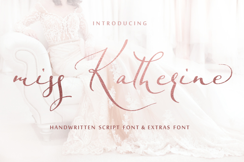 miss-katherine-font-extras-and-logo